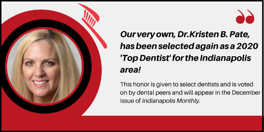 Dr. Pate Voted Top Dentist in Indianapolis